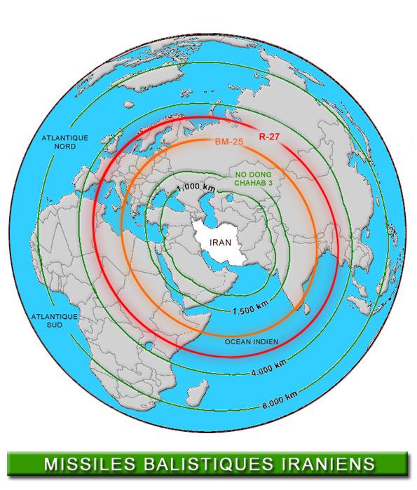 La disuasion est caduque Iran-missiles