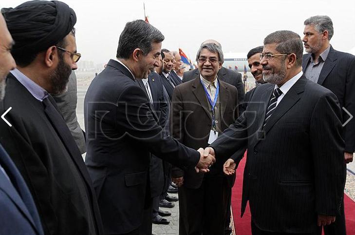 Rencontre morsi ahmadinejad